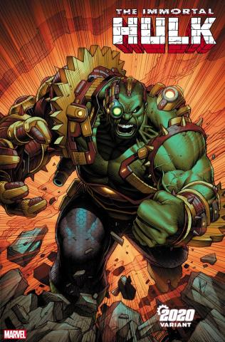 The Immortal Hulk #28 (Keown 2020 Cover)