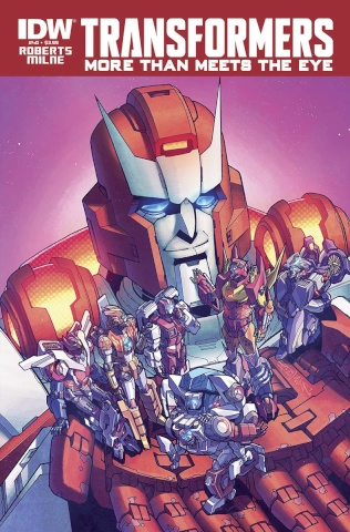 The Transformers: More Than Meets the Eye #40