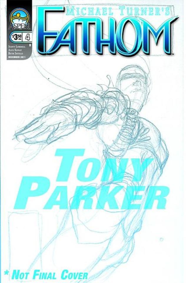 Fathom #4 (Parker Cover)