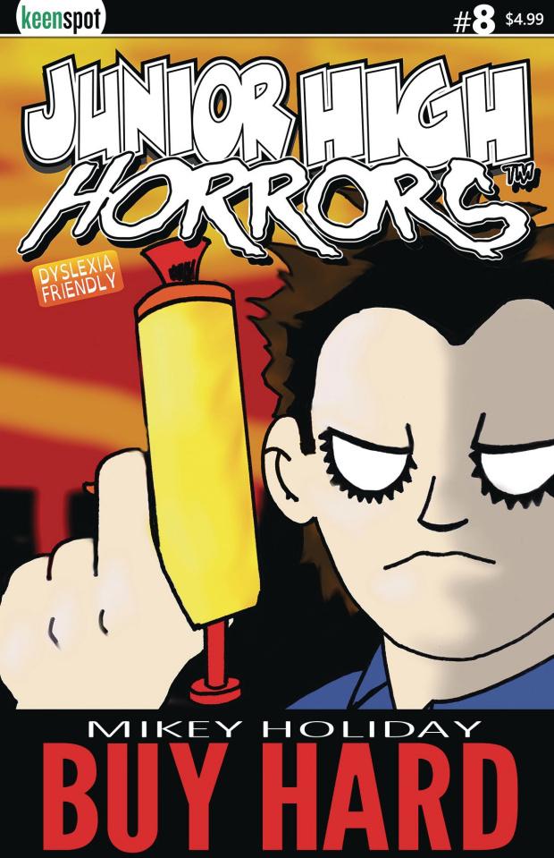 Junior High Horrors #8 (Buy Hard Cover)