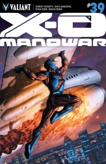 X-O Manowar #39 (10 Copy Cafu CoveR)