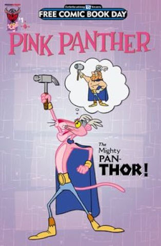 The Pink Panther #1 (FCBD 2016 Edition)