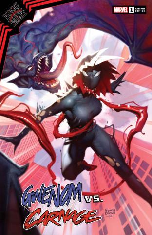 King In Black: Gwenom vs. Carnage #1 (Ryan Brown Cover)