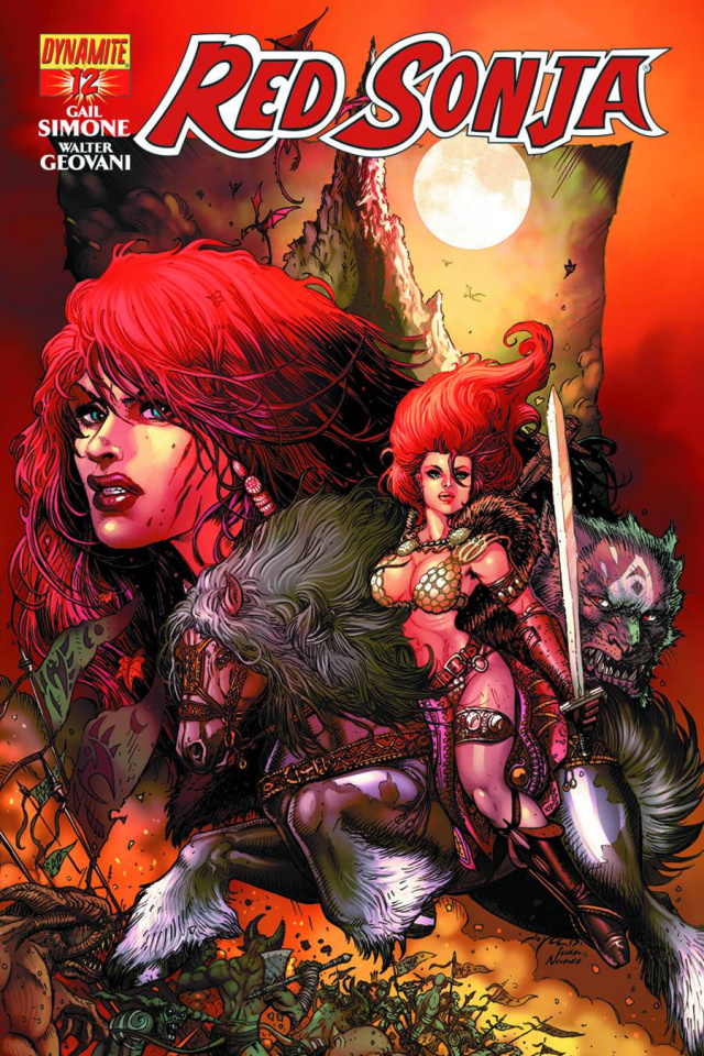 Red Sonja #12 (Chin Cover)