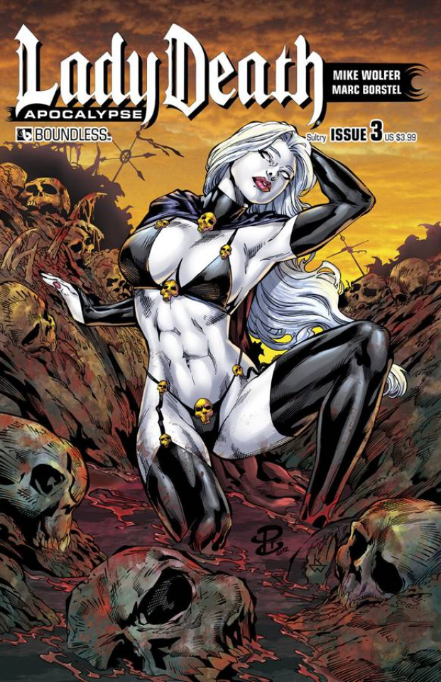 Lady Death: Apocalypse #3 (Sultry Cover)