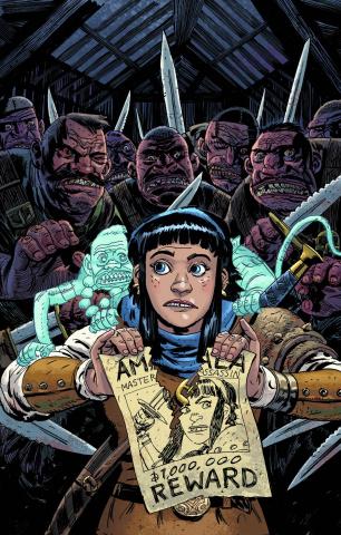Amala's Blade #1 (Davis Cover)