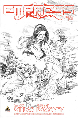 Empress #4 (Immonen Sketch Cover)