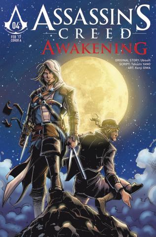 Assassin's Creed: Awakening #5 (Birdi Cover)