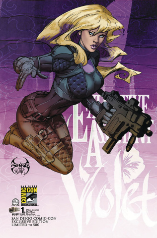 Executive Assistant Violet #1 (San Diego 2011 Cover)