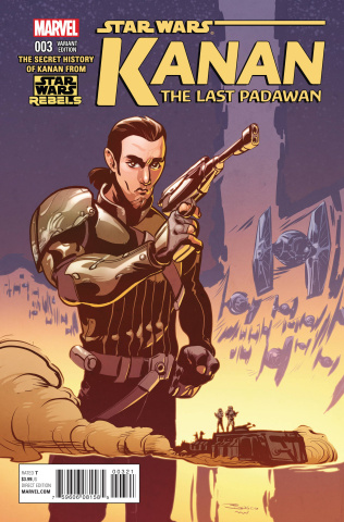 Kanan: The Last Padawan #3 (NG Rebels Television Show Cover)