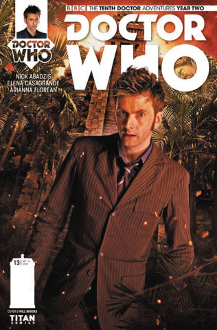 Doctor Who: New Adventures with the Tenth Doctor, Year Two #13 (Photo Cover)