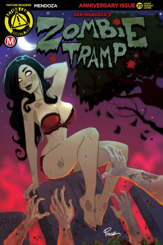 Zombie Tramp #25 (Pekar Cover)