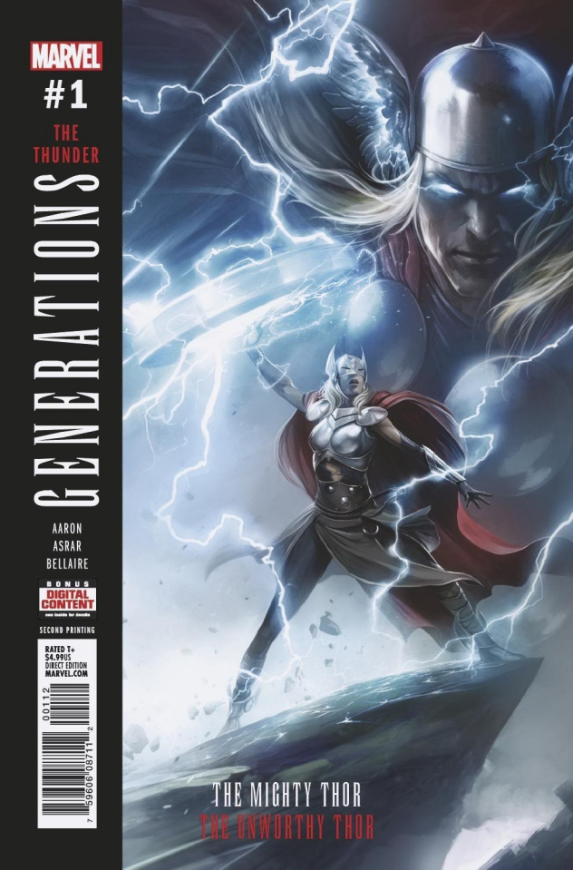 Generations: The Unworthy Thor & The Mighty Thor #1 (Mattina 2nd Printing)