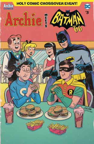 Archie Meets Batman '66 #5 (Galvan Cover)