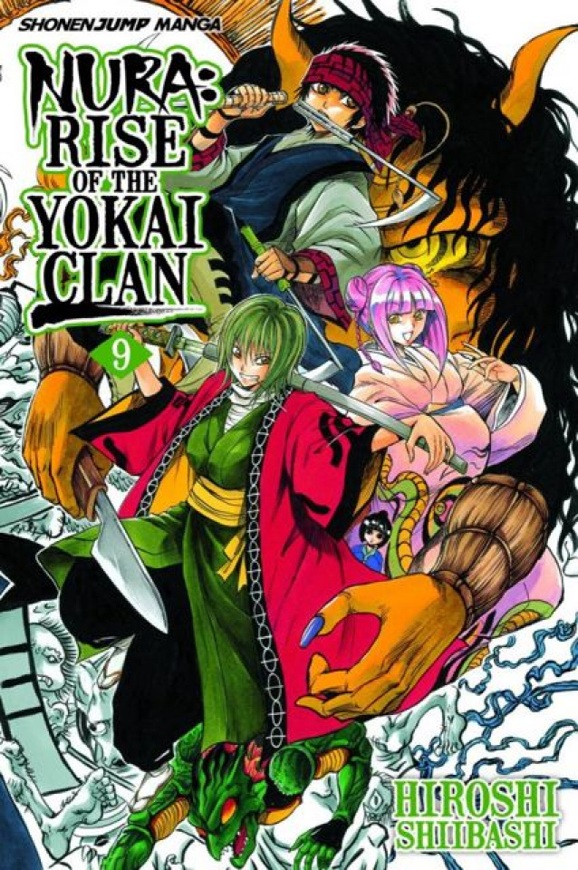 Nura: Rise of the Yokai Clan Vol. 9