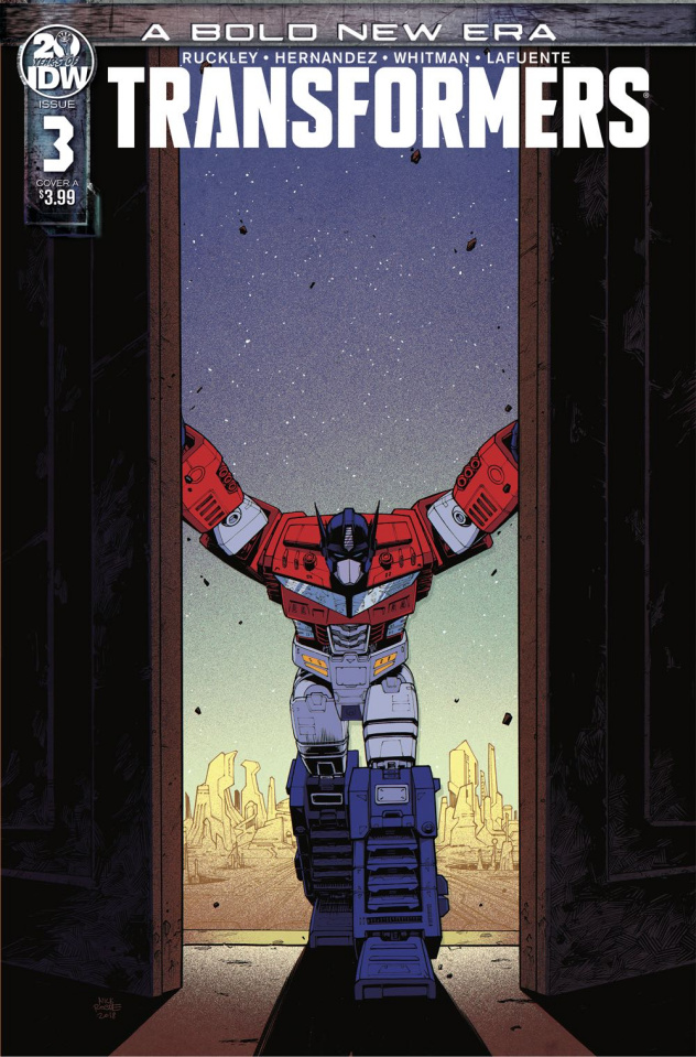 The Transformers #3 (Roche Cover)