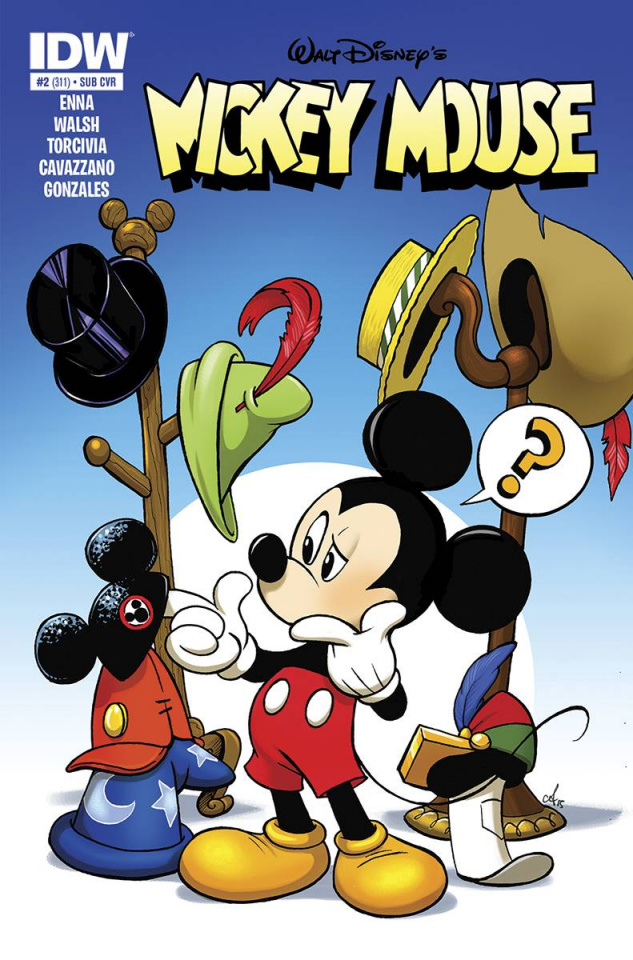 Mickey Mouse #2 (Subscription Cover)