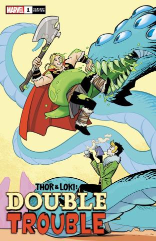 Thor & Loki: Double Trouble #1 (Bustos Cover)