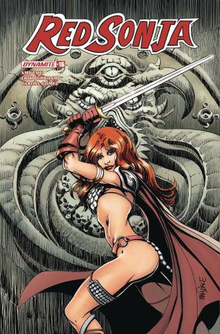 Red Sonja #16 (Mandrake Cover)