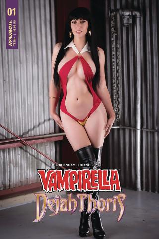 Vampirella / Dejah Thoris #1 (Vampirella Cosplay Cover)
