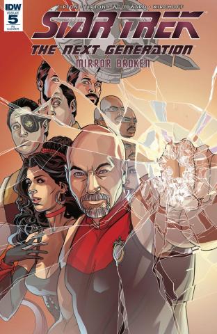 Star Trek: The Next Generation - Mirror Broken #5 (10 Copy Cover)