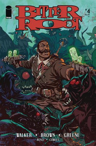 Bitter Root #4 (Greene Cover)