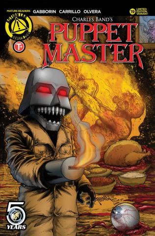 Puppet Master #19 (Mangum Cover)