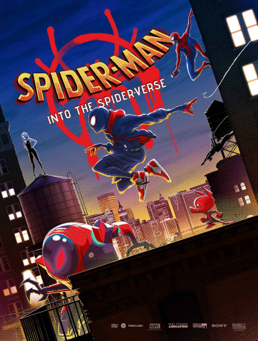 Into the Spider-Verse Poster Book