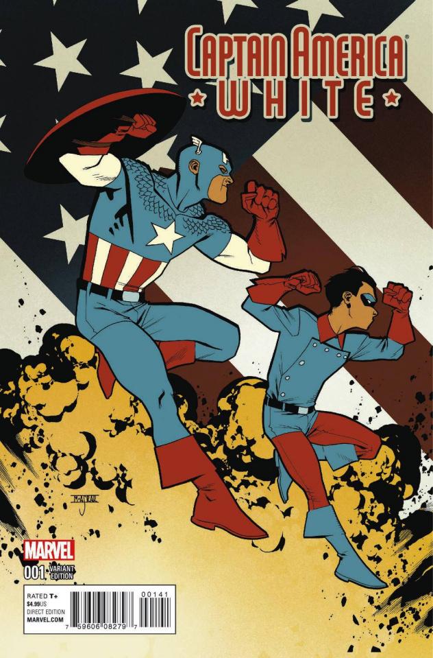 Captain America: White #1 (Asrar Cover)