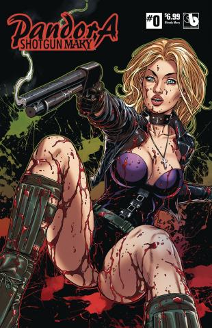 Pandora: Shotgun Mary #0 (Bloody Mary Cover)