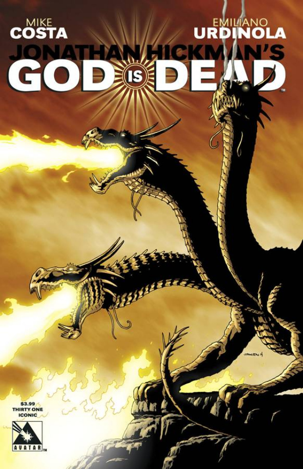 God Is Dead #31 (Iconic Cover)
