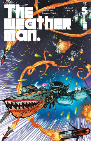 The Weatherman #5 (Johnson Cover)
