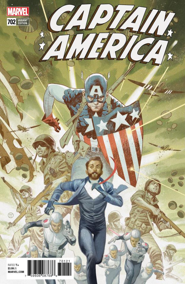 Captain America #702 (Tedesco Connecting Cover)