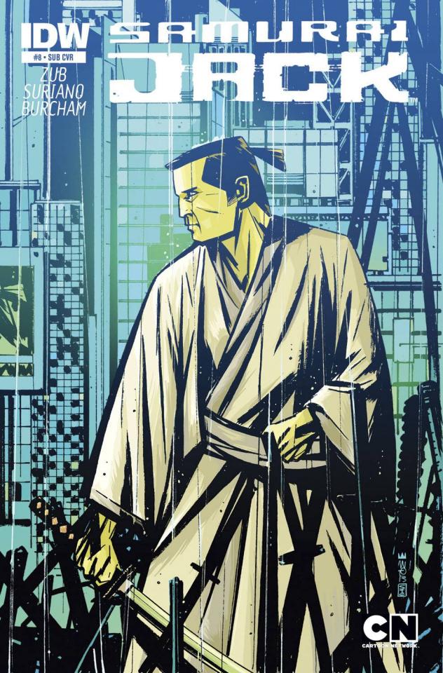 Samurai Jack #8 (Subscription Cover)