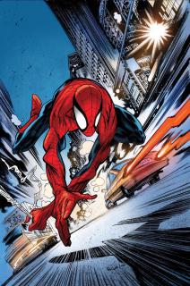 Peter Parker: The Spectacular Spider-Man #297 (Harren Cover)