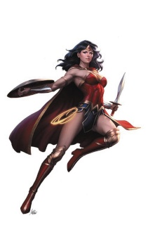 Wonder Woman: Rebirth #1 (Variant Cover)