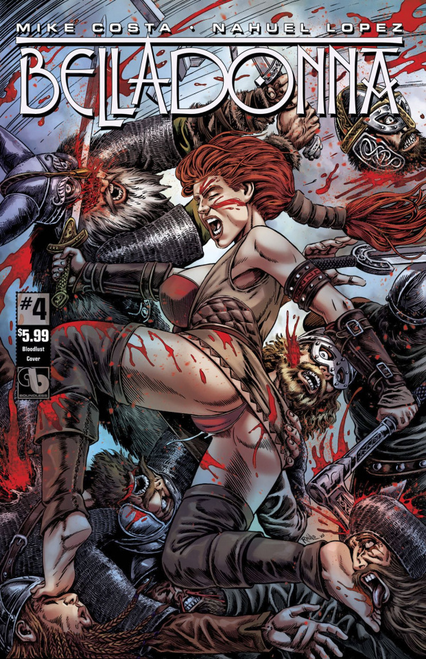 Belladonna #4 (Blood Lust Cover)