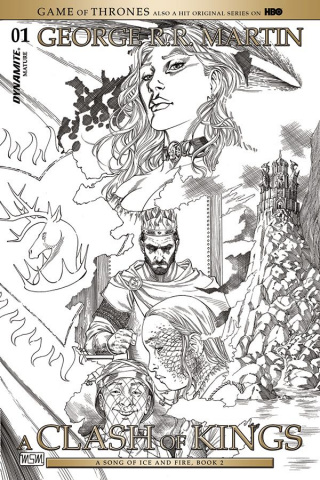 A Game of Thrones: A Clash of Kings #1 (10 Copy Cover)