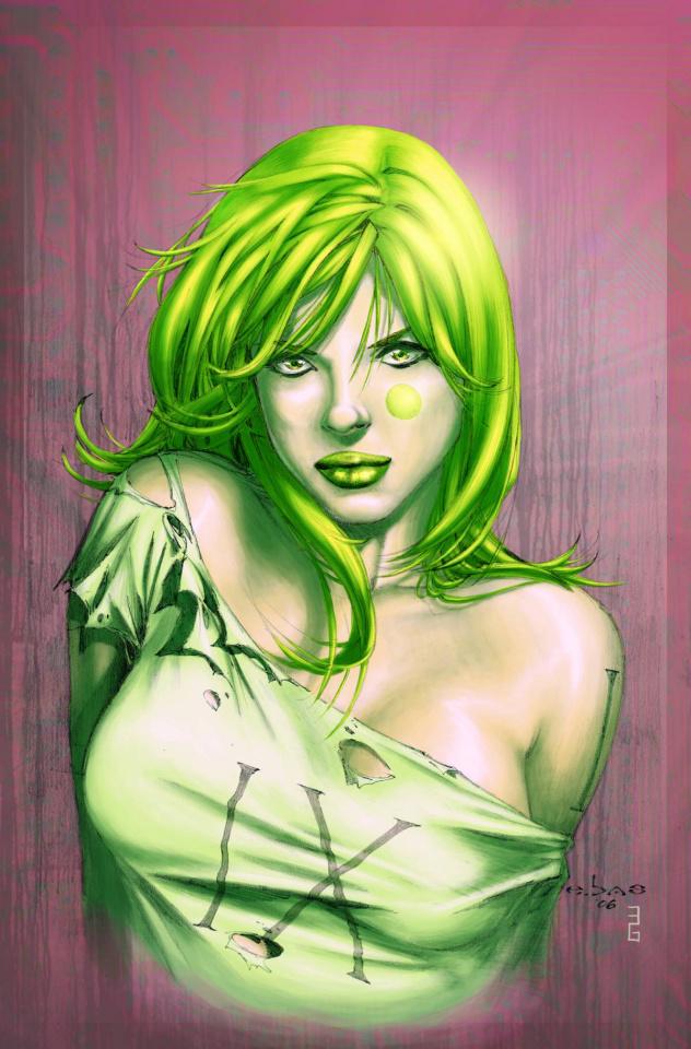 Aphrodite IX #4 (Basaldua Cover)
