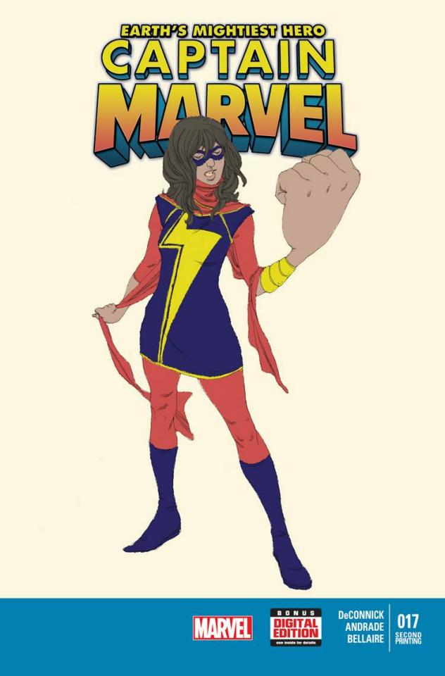 Captain Marvel #17 (2nd Printing)