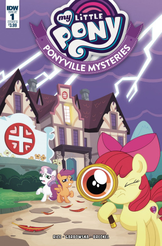 My Little Pony: Ponyville Mysteries #1 (Murphy Cover)