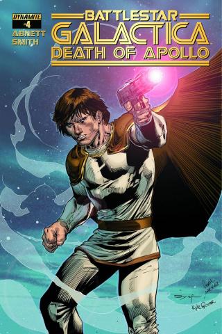 Battlestar Galactica: Death of Apollo #4 (Subscription Cover)