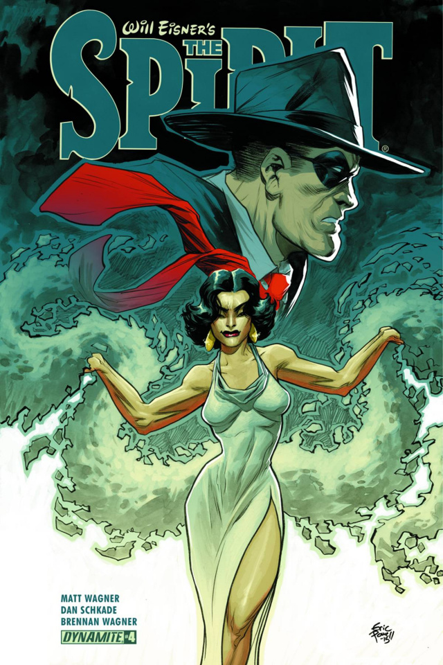 The Spirit #4 (Powell Cover)