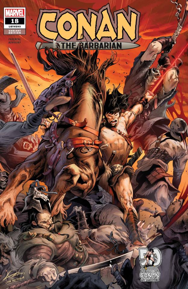 Conan the Barbarian #18 (Lozano Cover)