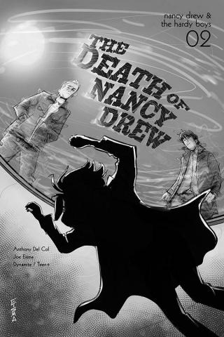 Nancy Drew & The Hardy Boys: The Death of Nancy Drew #2 (10 Copy Eisma Cover)