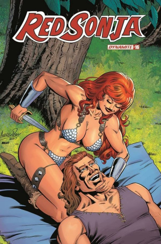 Red Sonja #16 (10 Copy Pepoy Seduction Cover)