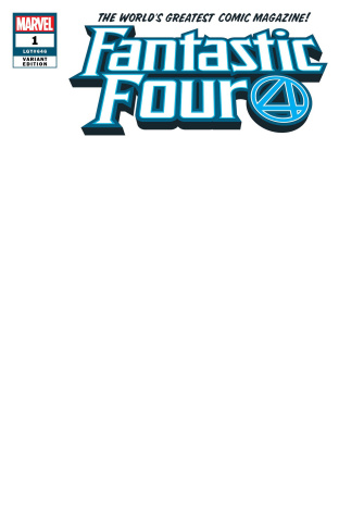 Fantastic Four #1 (Blank Cover)