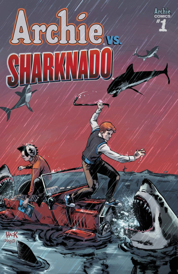Archie vs. Sharknado (Hack Cover)
