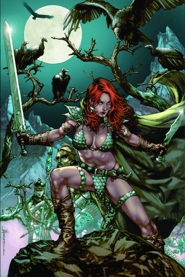 Red Sonja: Vulture's Circle #1 (Rare Anacleto Virgin Cover)