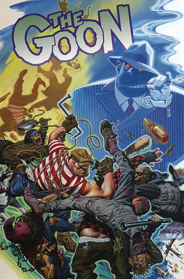 The Goon #5 (Steve Rude Cardstock Cover)